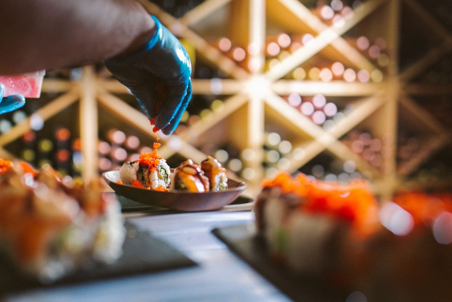 Why Champagne loves sushi